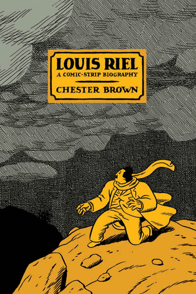 "More Chester Brown… Great review. booksbenread:  Louis Riel by Chester Brown How on Earth could a story about the founding of the province of Manitoba in Canada be even remotely interesting?  Seriously— It plays the role of headpiece to Minnesota, America's most boring state.  And it's in Canada, the Mexico of the North Pole!  And yet, this isn't the first wildly fascinating piece of  semi-nonfiction I've encountered regarding the region.  The first is the Guy Maddin movie My Winnipeg, which falsely but amusingly claims that the eponymous provincial city is the sleepwalking capital of the world, and that buffalo are attracted to the neighboring Red River by powerful underground magnets, as well as a host of other ""wish-it-were-really-true""s.  It is, by the way, one of my favorite movies.  Winnipeg, Manitoba is also the setting of Maddin's The Saddest Music in the World, another favorite of mine.  But how could non-fiction about anything that happened before 1900—especially if it takes place in Central Canada—not be excruciatingly boring? One: It has to look like a Tin-Tin comic.  Brown explicitly states in his notes that Herge wasn't an influence on his layout and style for his book.  He instead cites Harold Gray, whose work I am infinitely less familiar with. Two: Brown cites a different historical document for every panel on every page of this book.  It sounds excessive, but sometimes it's reassuring to know the dialogue from a work of historical fiction is pulled directly from a court document or surveying bill or whatever else Brown culled from.  The research on this book must have taken years.  And this stuff is really interesting!  Who knew that Canada's history was so political? Three:  Brown is very, very good.  If I Never Liked You is light salad, then this book is Porterhouse Steak.  It took me multiple sittings to finish, it challenged and enlightened me, and I can safely say that it is one of the best comic books I have ever read.  Move over, Sandman, Vol. 4: Seasons of Mist!  You've got company."