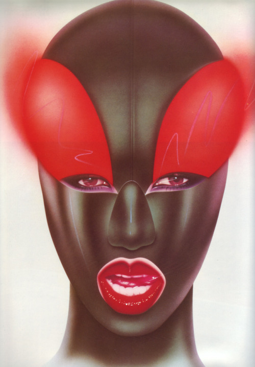 Grace Jones by Peter Sato