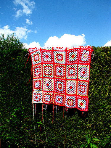 lovecrochet:  Almost there… (by Vicky Tate)