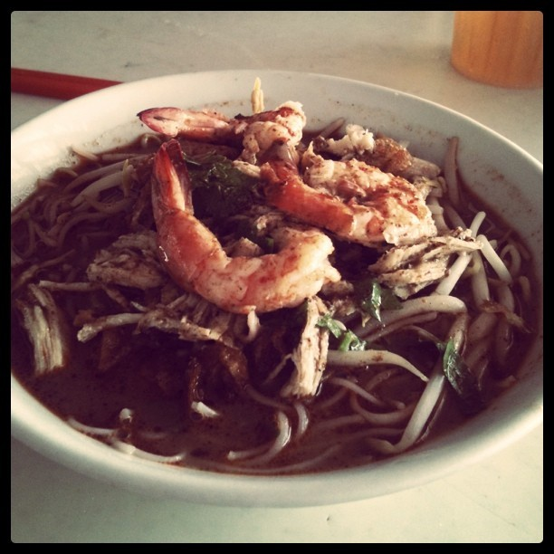 Missing the kolo mee from swak  (Taken with instagram)
