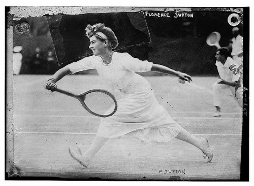 US Open Finalist Florence Sutton, 1911.