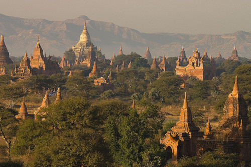 Bagan Skyline by peace-on-earth.org on Flickr.
