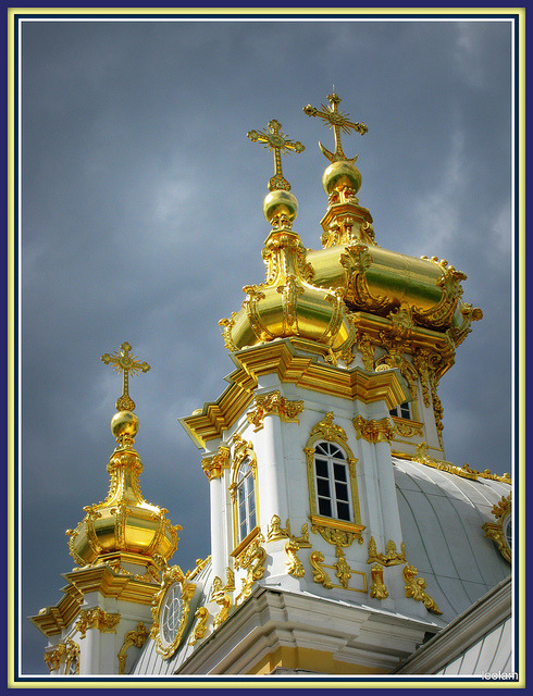 The Chapel of Peterhof Palace_St. Petersburg_Russia