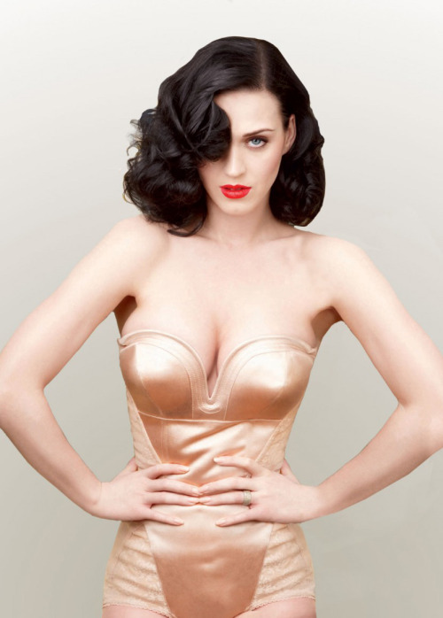 thelingerieaddict:  Katy Perry for Vanity Fair, June 2011