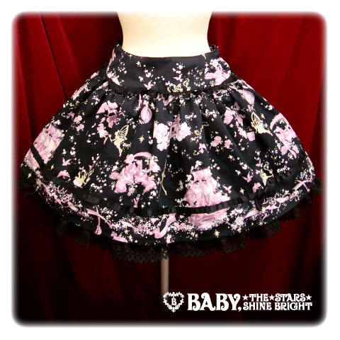 Baby, the Stars Shine Bright — Night Fairy Fantasia Mini-Skirt — ¥16,590 Comment on this post at HARAJUJU.net Forums