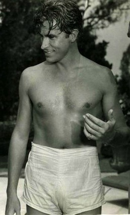 More Half-Naked Hollywood Hotties Check out these bathing-suited matinee idols from the old days, courtesy of Hollywood historian Gregory Moore.