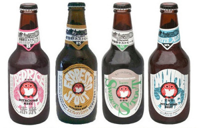 Hitachino Nest Beer. Some of my favorite beer labels.
