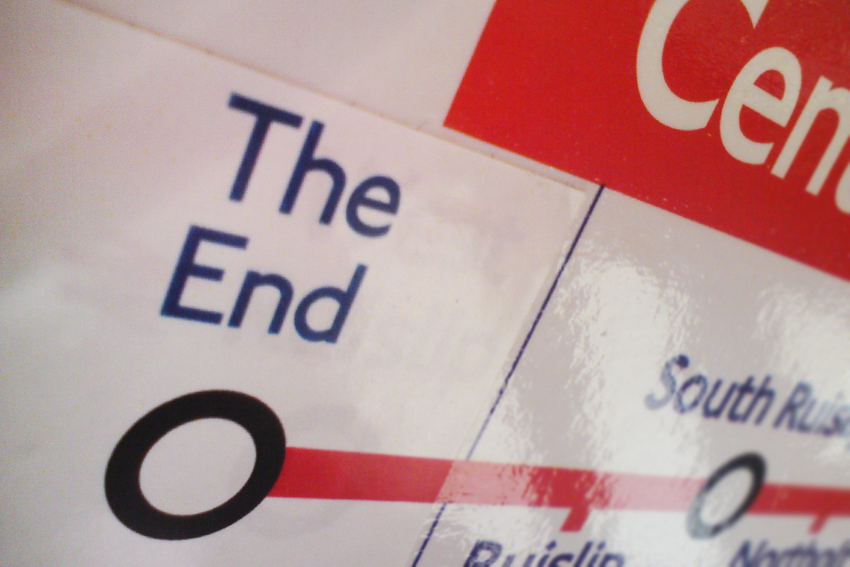 stickersonthecentralline:  All good things must come to an end. It's been a pleasure.