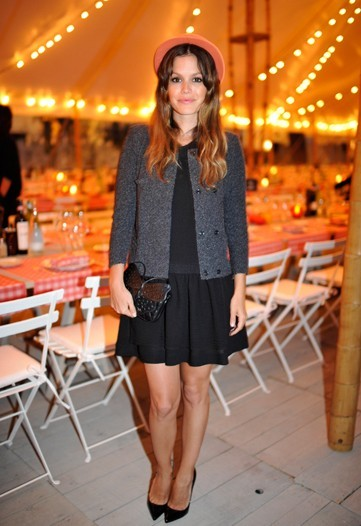 Rachel Bilson at the Chanel Resort 2012 Party in Antibes via wwd
