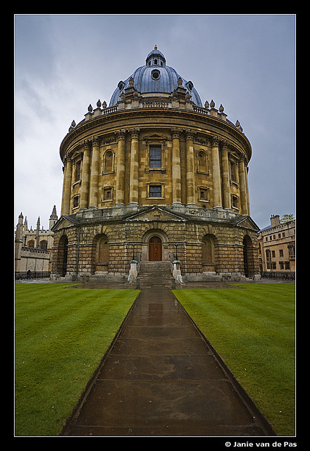 Radcliffe Camera by J. van de Pas on Flickr.