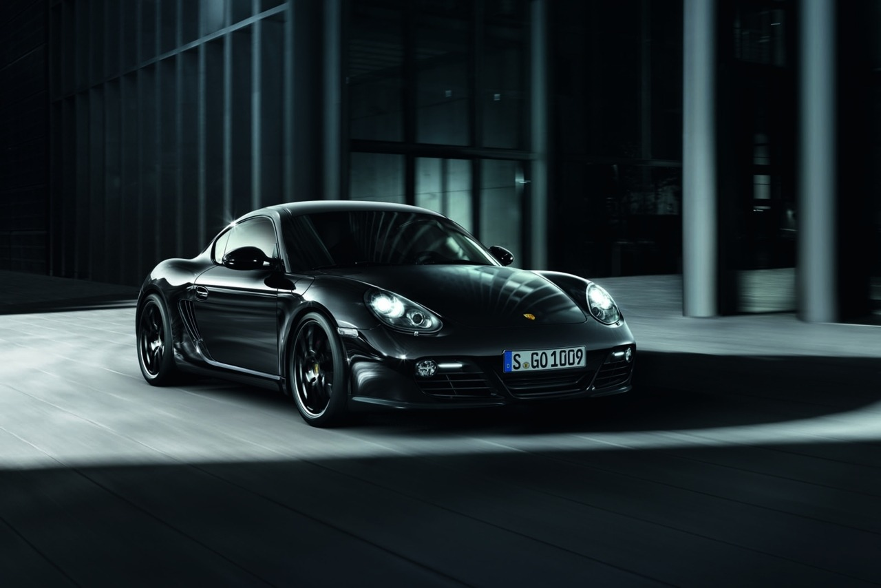 2011 Porsche Cayman S Black Edition  300HP. The starting price in Germany for the  Cayman S Black Edition is €67,807 ($98,500), including VAT, while U.S.  prices are even much lower starting from $67,500 (€45,600).   (vía Carscoop)