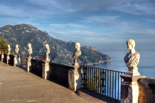 Villa Cimbrone Terrace
