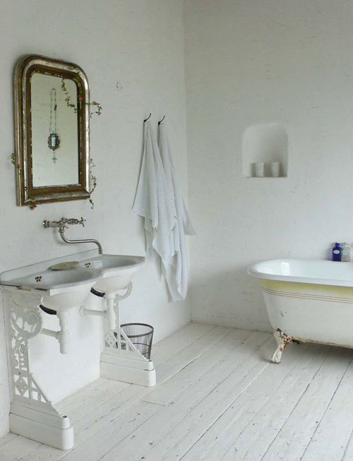 bathroom with chair, no. 2