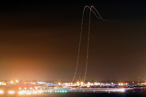 Long Exposure Airline TakeOff