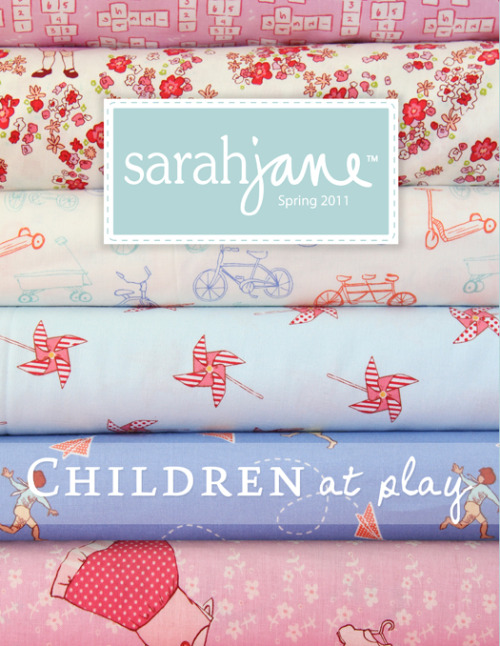 (via Sarah Jane Studios Blog) Hooray Hooray!  Beautiful new fabrics from a favourite artist of mine!  Wishing I had time to make a quilt now…