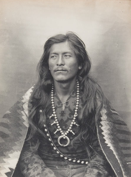 Regal: Ah-del-stohne (Straight Shooter), Navajo, 1903. Photograph by Adam Clark Vroman.