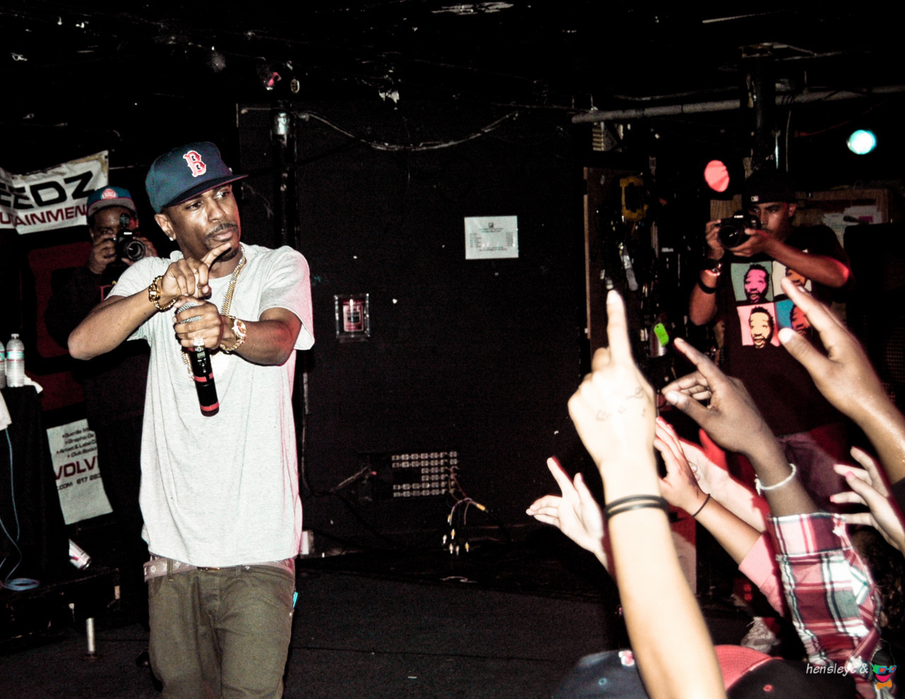 Big Sean performing at the Middle East Downstairs in Cambridge, Mass. (Just outside of Boston). (5/5/11)