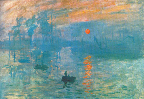Impression: Sunrise Claude Monet Impressionism 1872 medium-painting