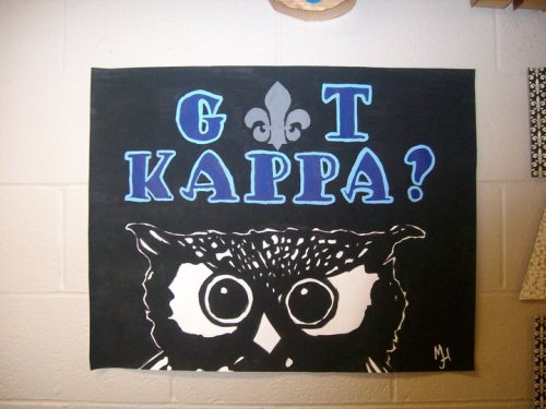 flamingartist:  Got Kappa? Acrylic Painting