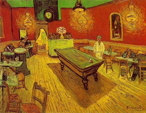the Night Cafe Vincent van Gogh Post Impressionism 1888 medium-painting