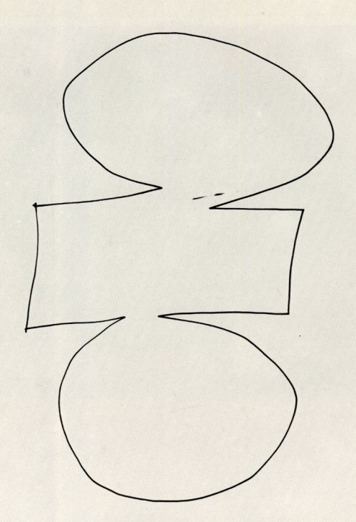 Ellsworth Kelly, One Stroke, 1959