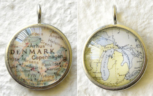 Want a locket, pendant or ring to remind you of your favorite places?  Check out this Etsy shop.