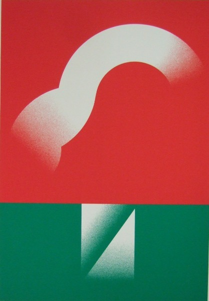Red and Green, Ikko Tanaka (田中一光)