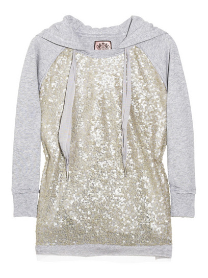 What's a girl to wear to after-prom festivities? Two words: sequin sweatshirts, like this gorgeous one from Juicy Couture. Check out our other post-party faves »
