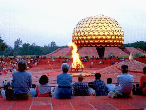 521. Go to Auroville, India