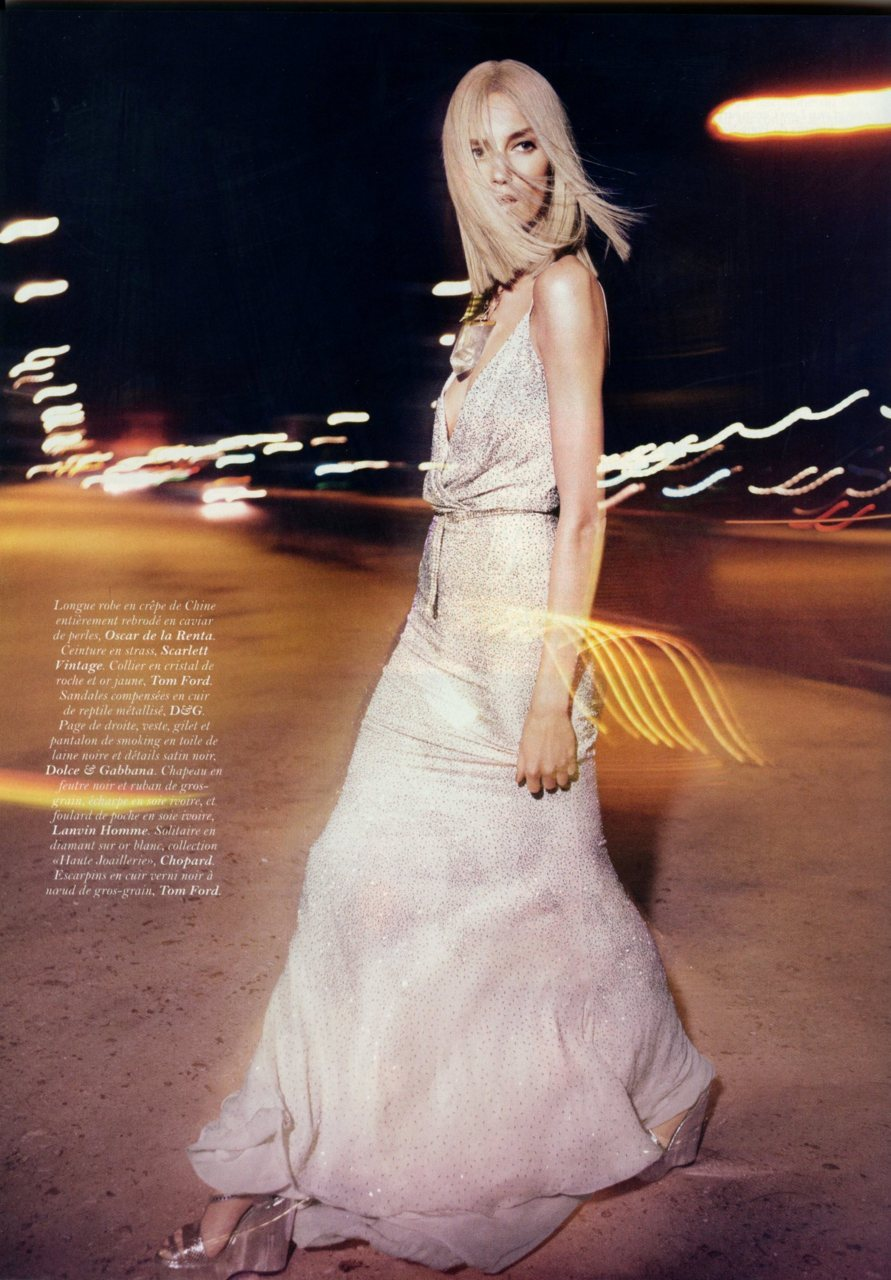Just another gorgeous girl on the street. Vogue Paris, May 2011