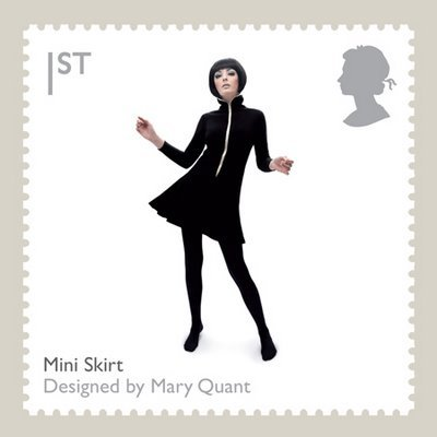 Mary Quant Royal Mail Stamp