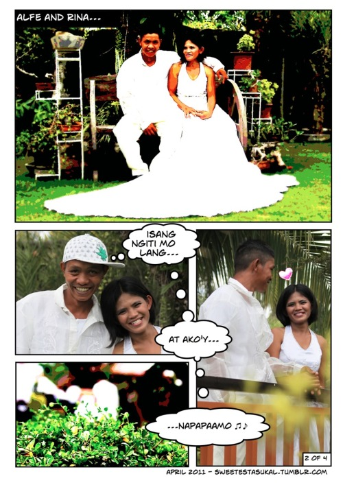 Mass wedding ministry e-shoot part 2 Photography by Abi Padilla, Comics by Je Padilla