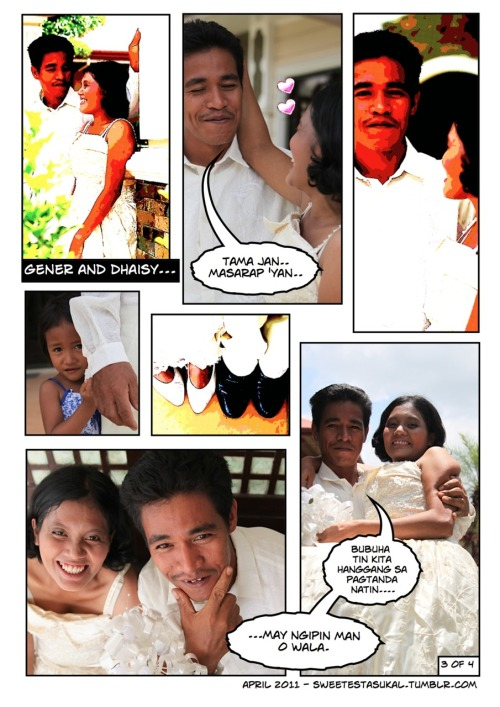 Mass wedding ministry e-shoot part 3 Photography by Abi Padilla, Comics by Je Padilla