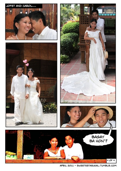Mass wedding ministry e-shoot part 4 Photography by Abi Padilla, Comics by Je Padilla