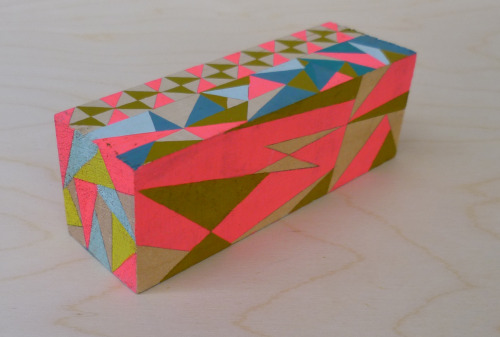 I've updated my Etsy shop. I'll be selling hand painted wood blocks. I'll be adding more today after I can take some decent photos.