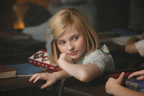 You probably remember Abigail Breslin as adorable Olive Hooper in Little Miss Sunshine, or as Little Rock in Zombieland, but did you know that she also starred as American Girl Kit Kittredge in the theatrically-released (I know, we were surprised too) Kit Kittredge: An American Girl Story? Editor's Note: The movie also features Jane Krakowski (30 Rock), Joan Cusack (anything with John Cusack), Chris O'Donnell (Batman & Robin), Stanley Tucci (The Lovely Bones), and Colin Mochrie (Whose Line is it Anyway).