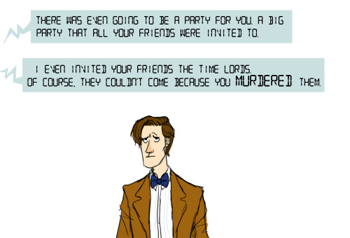 theillustriousmissjo:  what if I made Doctor Who/Portal crossovers forever what if