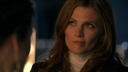 Cute Beckett facial expression from #PrettyDead #Castle