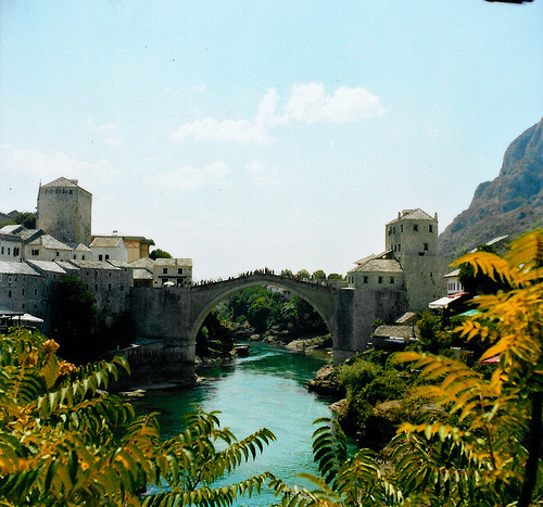 123 places to visit #123+: Mostar, Bosnia and Herzegovina