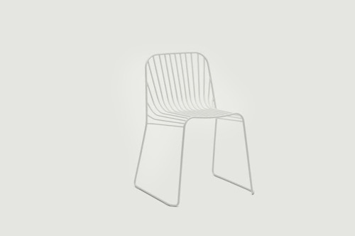 spline chair, by andreas engersvik