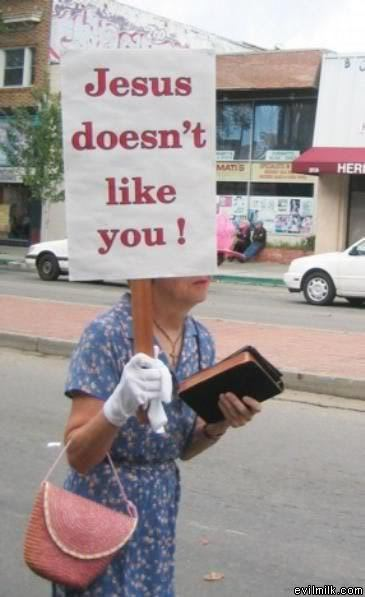 (via LOL god: Jesus doesn't like you)