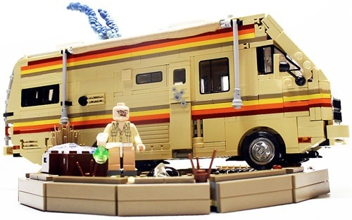 Breaking Bad in LEGO form.
