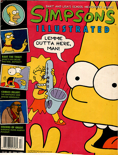 Simpsons Illustrated Magazine (Fall 1991)
