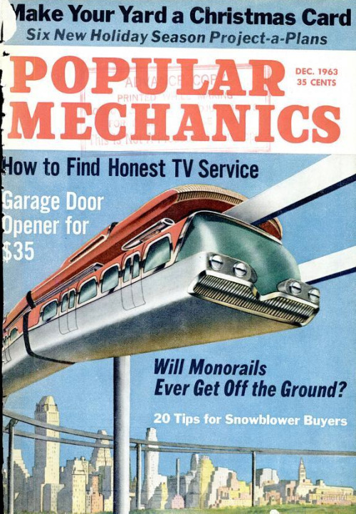 popmech:  Dec. 1963 issue.