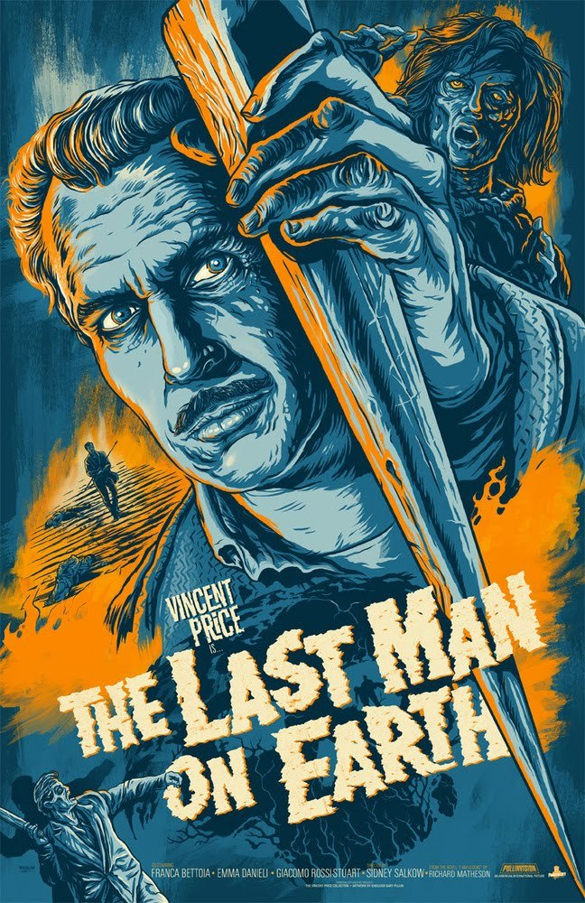 The Last Man on Earth poster by Phantom City Creative (via Inside the Rock Poster Frame)