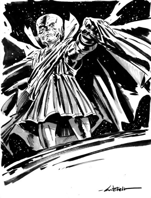 awyeahcomics:  Uatu the Watcher by Mitch Breitweiser  ,