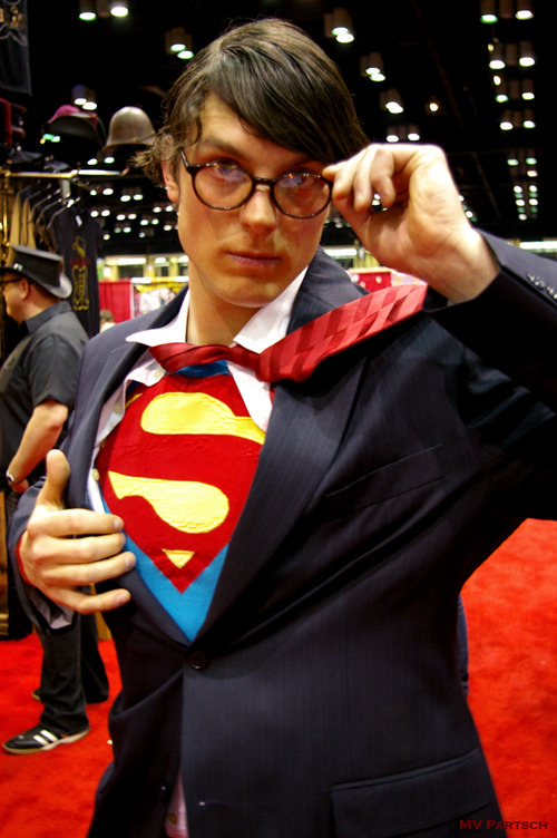 Clark Kent of Kansas.  MegaCon. Orlando. 2011. Exhibit Hall.