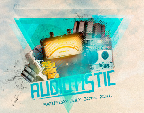 Audiotistic 2011 July 30: Audiotistic will be back for another round of music festival madness!!  Artists confirmed thus far: Super8 & Tab, Menno De Jong, Flux Pavillion, Doctor P, Crystal Castles, Nick Catchdubs, Zoo Brazil, Benga, Diplo, Plastician and more soon! Insomniac will again be using their magnetic card system for this event. NOS Center, San Bernadino Tickets —> Click Here!!