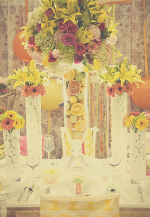 Lilly Pulitzer Fresh Squeezed Love shoot {via weddingchicks}