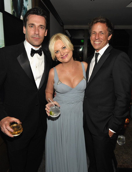 Jon Hamm, Amy Poehler and Seth Meyers